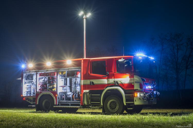 Nová Scania JSDH Drnholec